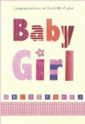ABC Baby Girl Greeting Card